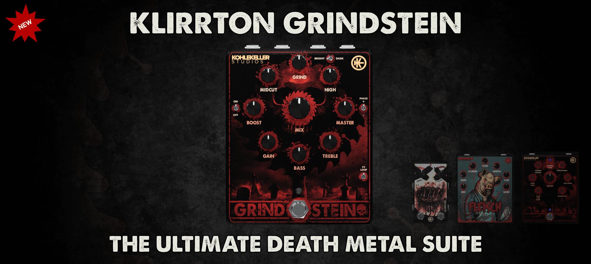 Klirrton Grindstein Site Banner